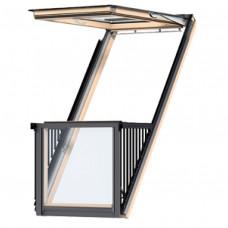 Окно-балкон VELUX CABRIO GDL 3066 ®